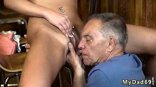 Mature strip off and hot wife young stud When he left,