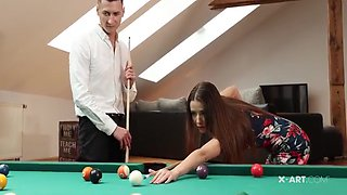 Sybil - Desired Beauty Moisturizes Herself With Guys Seed