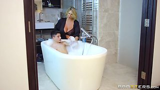 Bathing Your Friend's Dirty Mama