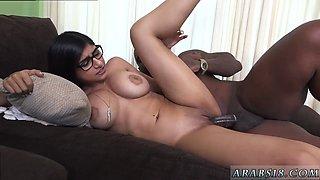 Arab virgin pussy virginity Mia Khalifa Tries A Big Black Dick