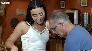 Daddy4K Anna Rose - Can you trust your girlfreend leaving her alone with your father 1080p