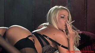 Danielle maye smoking masturbation