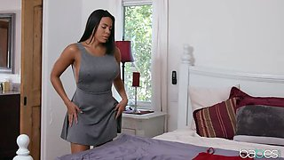 BAE finds Babe Drenched in her Red Dress