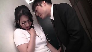 To Stop Her Husband From Being Let Go From His Job, A Married Woman Is Forced To Get On Her Knees, Gets Fucked Relentlessly, Forced To Masturbate, Gets Creampied