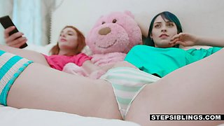 Stepsisters want Stepbro  s D ft. Lacy Lennon amp  Jewelz
