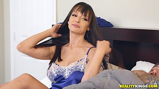 Mommy and Son caught on fucking by his GF