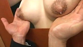 Lactation, cool Gloryhole Breastfeading, by Spyro1958