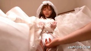 Hot ass asian bride having her twat teased upskirt