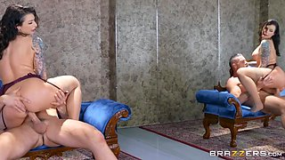 Ivy Lebelle & Charles Dera in Lounging For Sex - BRAZZERS
