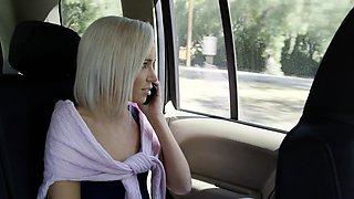 Preppy Blonde Girlfriend Cheats with BBC