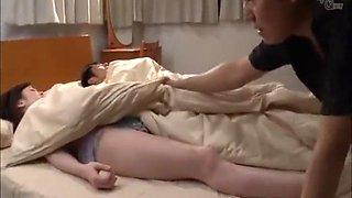 hot japanese sleeping beauty