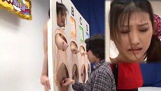 Amazing Japanese slut in Best Group Sex, Handjobs JAV clip