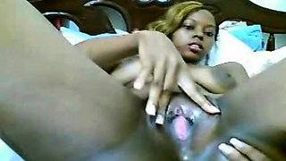 Hot african chick (no sound)