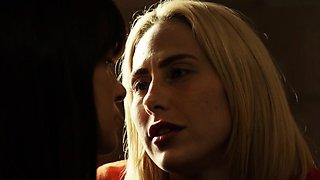 Alison and Carter reach orgasm inside prison