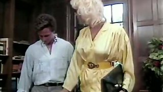 Famous classic porn star Peter North cumshot scene