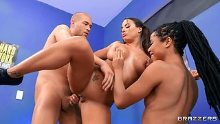 Group Pers-Anal Training Free Video With Xander Corvus & Luna Star & Kira Noir - Brazzers