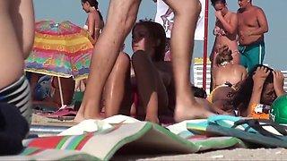 Girls on beach 120
