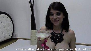 Premium Bukkake - Elya swallows 86 huge mouthful cumshots