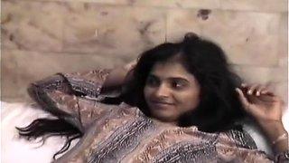 Tiny Indian Whore Sharmila Takes Big Man