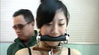 Chinese Maid Slave in Bondage.