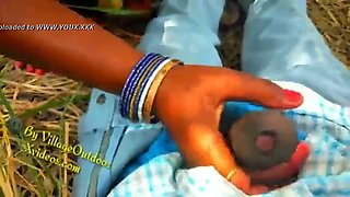 Indian village aunty having affair with young boy