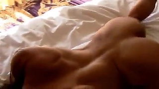 Sexy cougar with a big clit