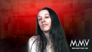 Meli Deluxe in German Teen assists Mature Couple - MMVFilms