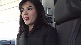 Bella Beretta - Demanding Teen Fucks In Car
