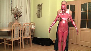 The real flexi rubber doll