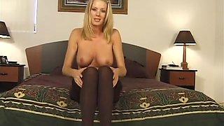 Vintage JOI Humiliation Pantyhose Jennifer