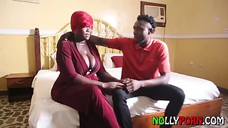 Requested African BBW Sugar MAMA takes advantage of sons friends