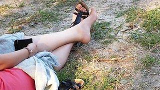 Arab's women feet compilation