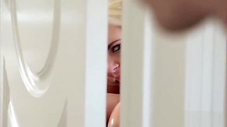 I'm Taking A Bath When I Notice That Someone Is Spying On Me