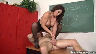 Leena Sky & Levi Cash in My First Sex Teacher