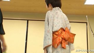 Geisha slave gets punished