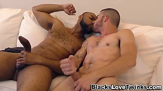 Black stud pounds whiteys ass