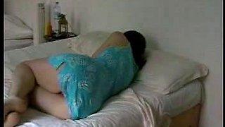 Sleeping in Skirt