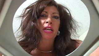 Toilet slave for a bride