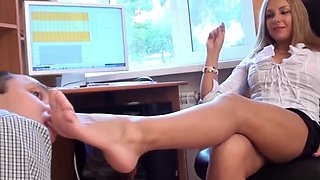 tan pantyhose domination