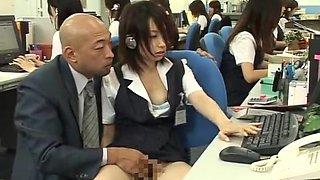 Horny Japanese slut Megumi Shiina, Nana Miyachi in Hottest Public, Masturbation JAV video
