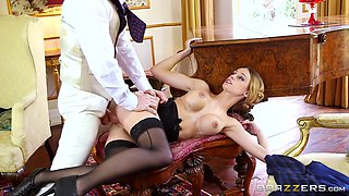 Erica Fontes & Ryan Ryder in Downton Grabby 2 - Brazzers