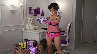 Futa housewife candy cane ep. 1