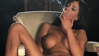 Smoking brunette 720p