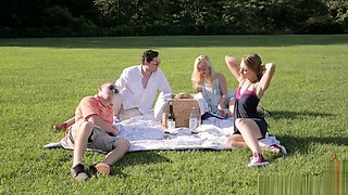 Ashley Fires, Anya Olsen - Family Picnic Part 1