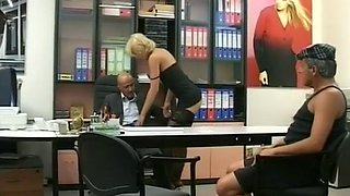 Slut Gets Ass Fucked At Job Interview