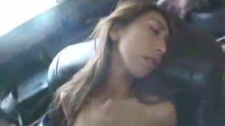 Drunk asian girl