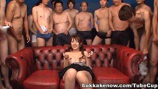 Tsubasa Amami fucks hard and gets covered by lots of cum