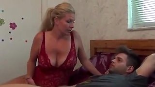 Brother and sister caught together by mom dad and then mom get fucked