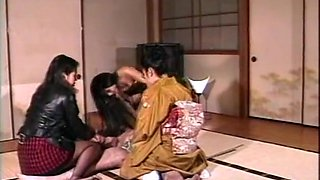 Incredible JAV censored adult scene with exotic japanese whores