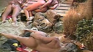 Incredible lesbian classic video with Nick Slaughter and Jamie Summers